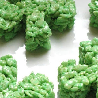 Shamrock Rice Krispies