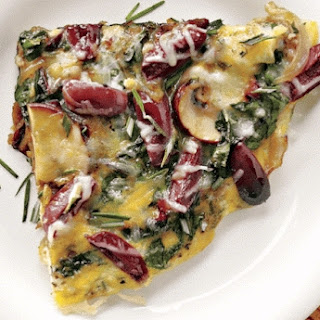 Mushroom-olive Frittata Recipes For Diabetics