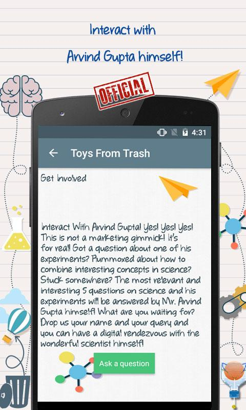 Toys from Trash - Arvind Gupta- screenshot