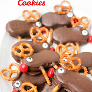 Holiday Reindeer Cookies.