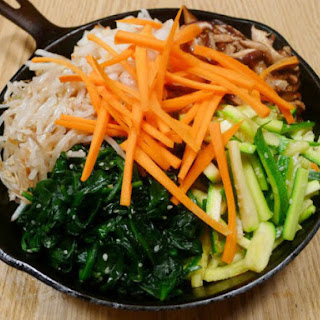 The Occasional Vegetarian's Bibimbap.