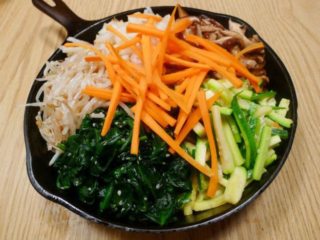 The Occasional Vegetarian's Bibimbap