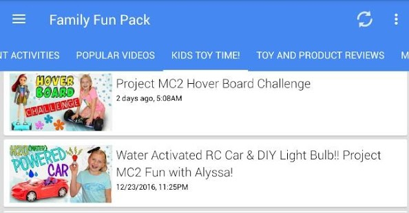 Family Fun Pack Screenshot Thumbnail