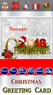 Happy Christmas Greetings - náhled