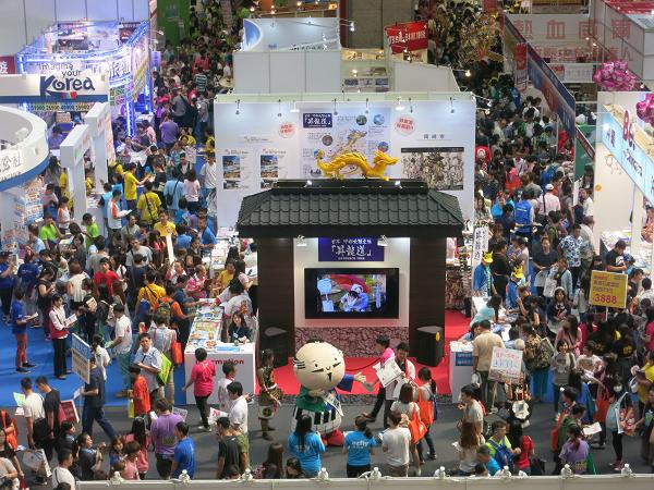 2015.ITF台北國際旅展.靜岡小丸子、濱松家康君 @ 世貿