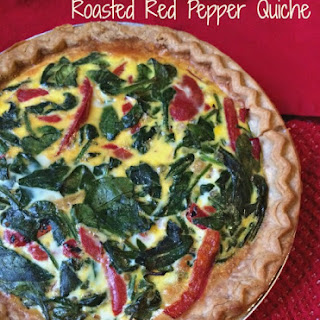 Roasted Red Pepper Quiche Recipes.