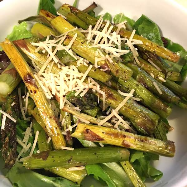 Roasted Asparagus And Scallion Salad Recipe