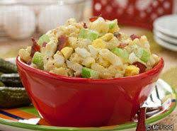 Bacon And Egg Macaroni Salad Recipe