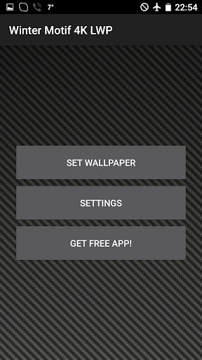 無料个人化Appの冬のモチーフに4Kライブ壁紙です!|HotApp4Game