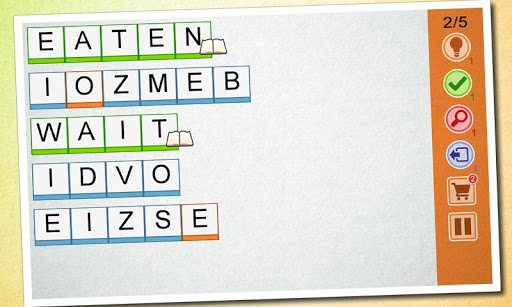 Word Scramble - Good Times