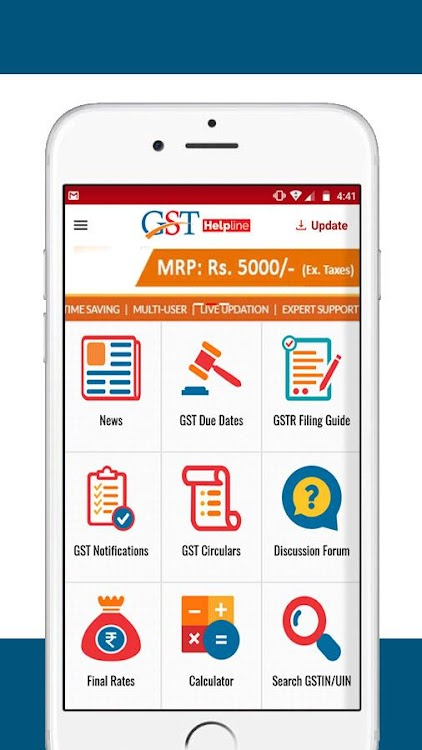 GST Helpline (GSTR Filing & GST Due Dates) – (Android Apps) — AppAgg