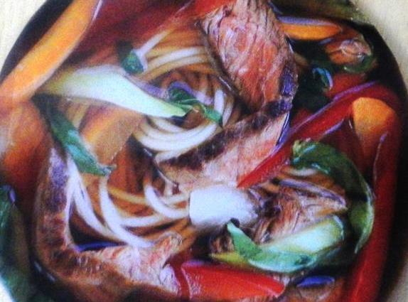Veggie Beef & Angel Bowl Recipe