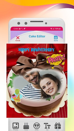 Name photo on Birthday Cake Maker ss3