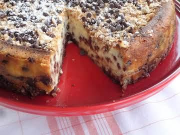 Nancy's Famous Cannoli Cream Cheesecake