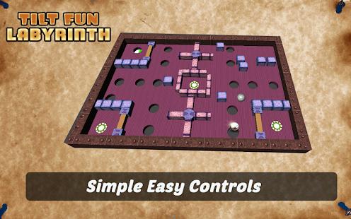 Tilt Fun Labyrinth screenshot