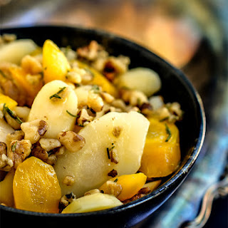 Parsnips With Rosemary Butter And Walnuts