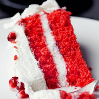 Red Cocanut Cake