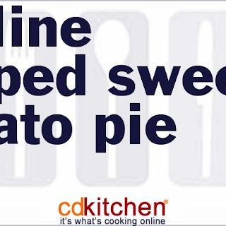 Praline-Topped Sweet Potato Pie.