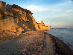 Photo: Homokfalak közel a görög határhoz.