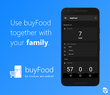 buyFood - shopping and inventories - náhled