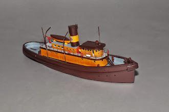 Photo: N Scale Edna G, 109' Great Lakes Tugboat