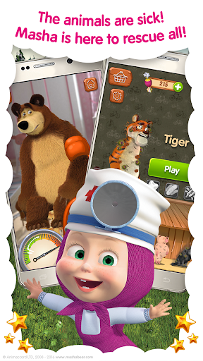 Masha and the Bear: Free Animal Games for Kids  screenshots 2