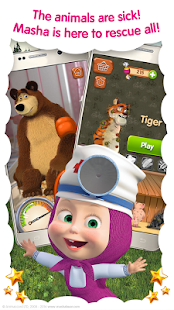 Masha and the Bear: Free Animal Games for Kids 2