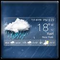 Hot Transparent Weather Widget icon