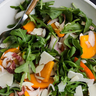 Winter Persimmon Salad.