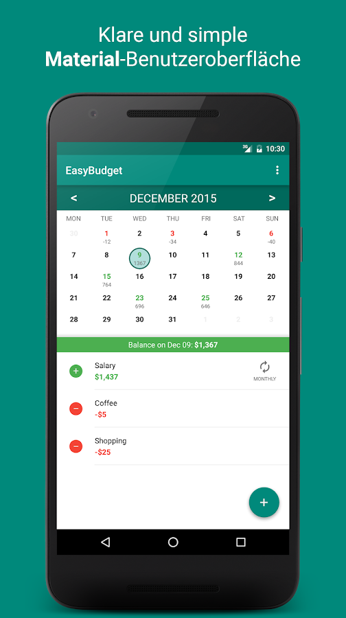 EasyBudget – Android-Apps auf Google Play