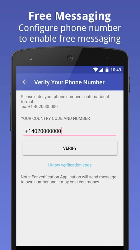 Private Message Box : Hide SMS screenshots
