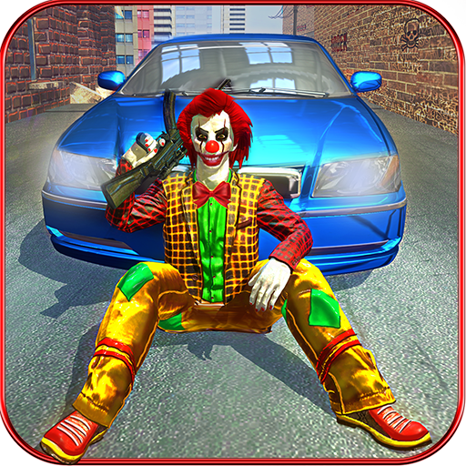 Criminal Clown gangsters simulator: Grand Actions