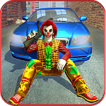 Criminal Clown gangsters simulator: Grand Actions Icon