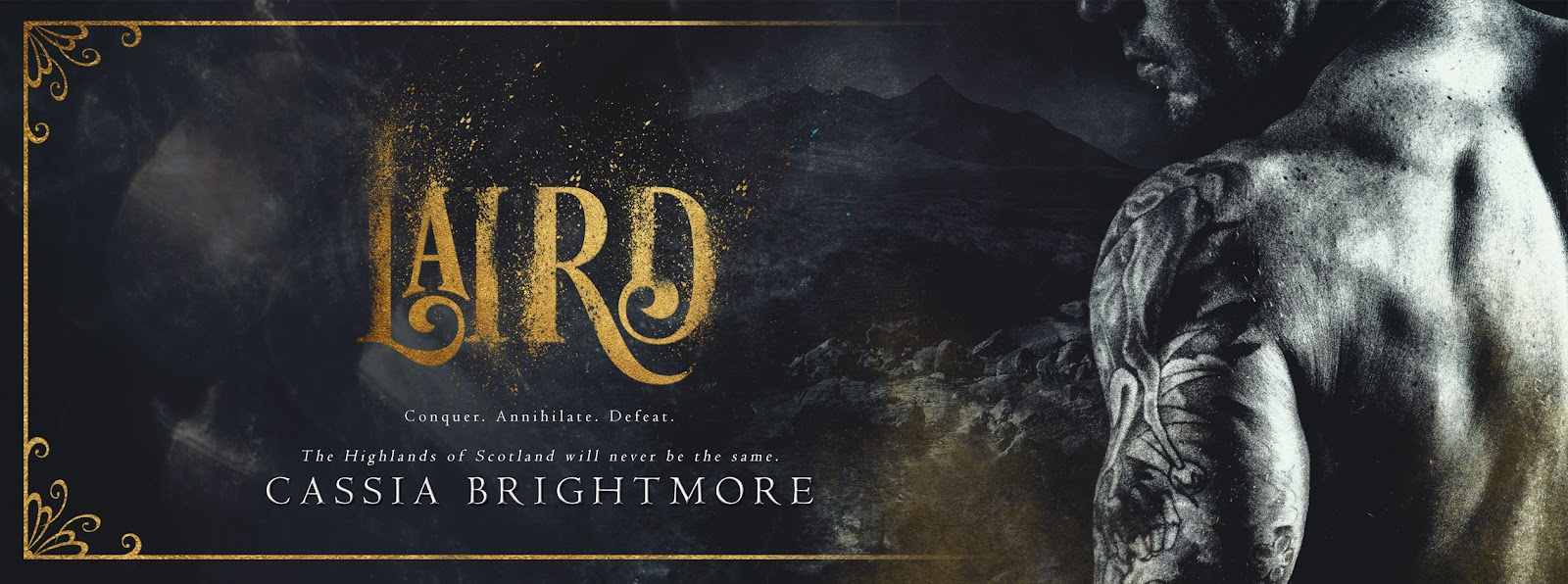 Cover Reveal 💗 Laird by Cassia Brightmore