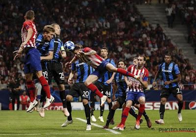 Diego Costa is enkele weken buiten strijd na het duel met Club Brugge