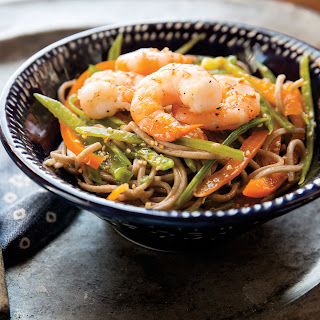 Shrimp With Spicy Ginger Noodles