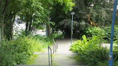 Photo: Treppe zur Konkordiastraße.