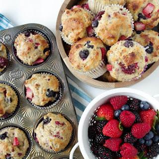 Super Berry Chia Muffins