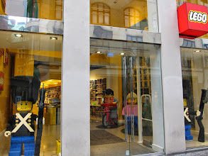 Photo: No trip to Denmark would be complete without a visit to the Lego store.