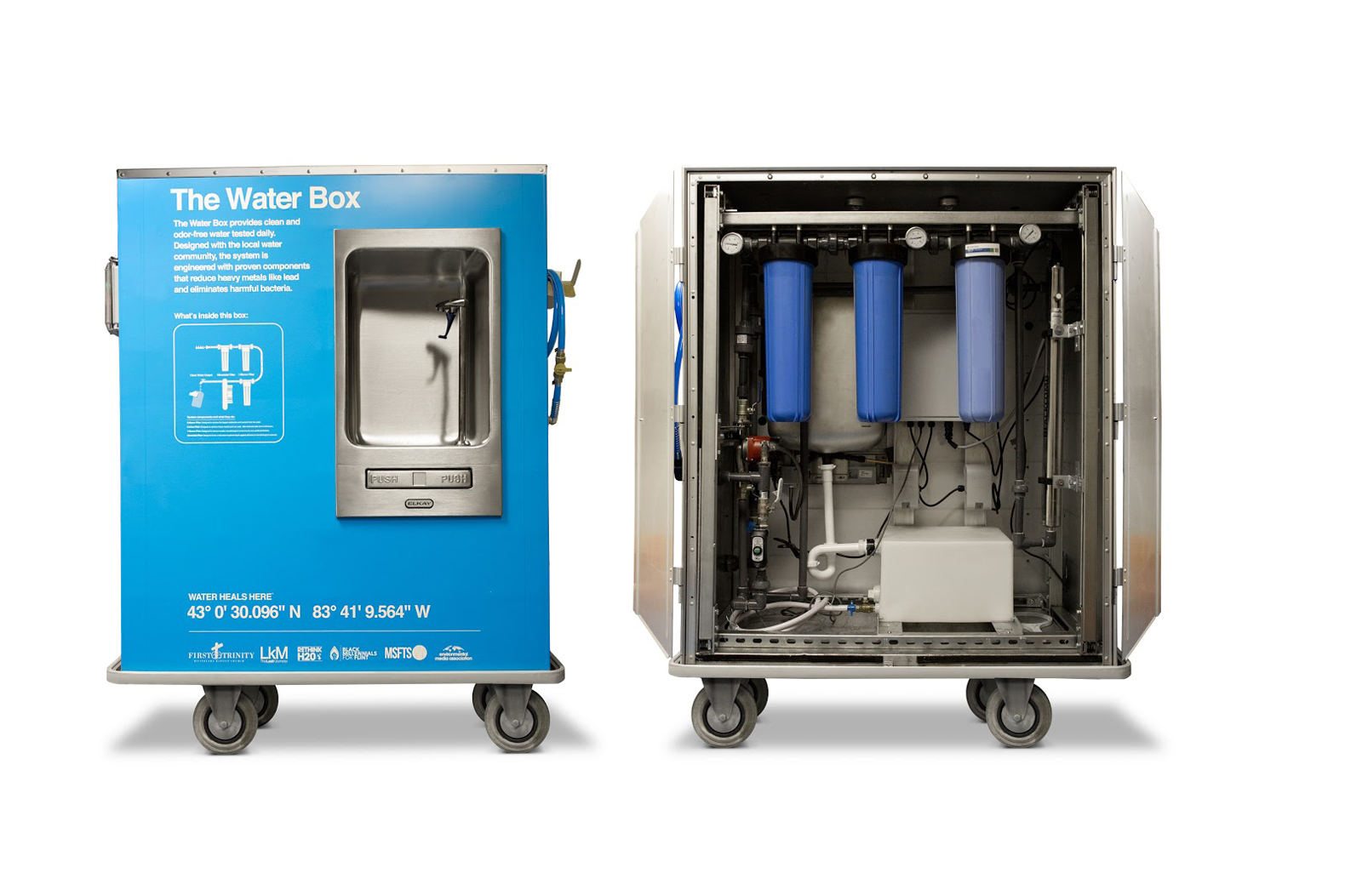 Image result for the water box