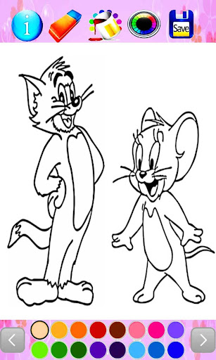 tom and jerry coloring 1.0 screenshots 3