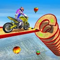 Mega Ramp Spiral Bike Stunt Racing Games-Bike Game icon