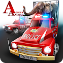 Angry Animals Police Transport icon