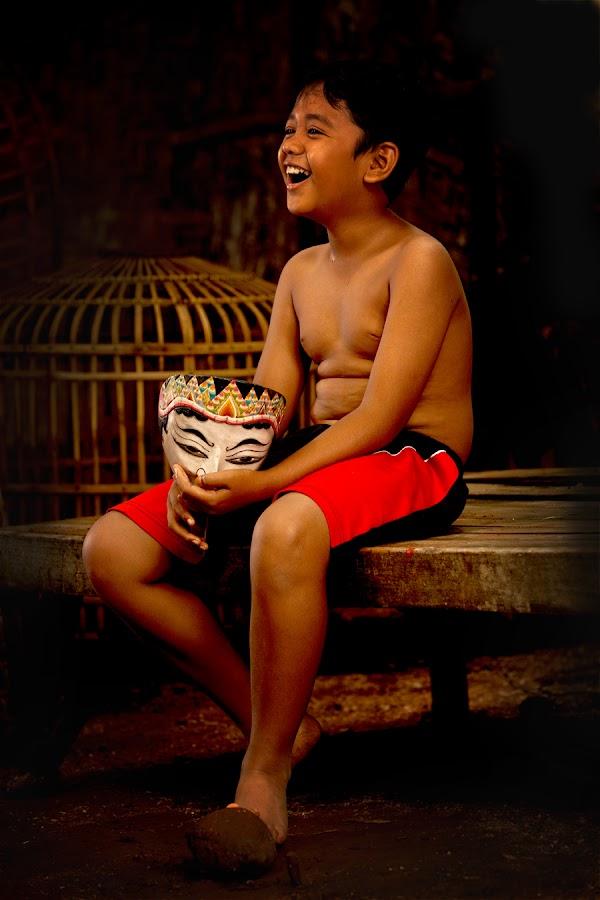 laughing by Didi Nugroho - Babies & Children Children Candids