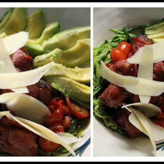 Chicken Livers Wrapped in Bacon {Low Carb, Paleo, Salad}.