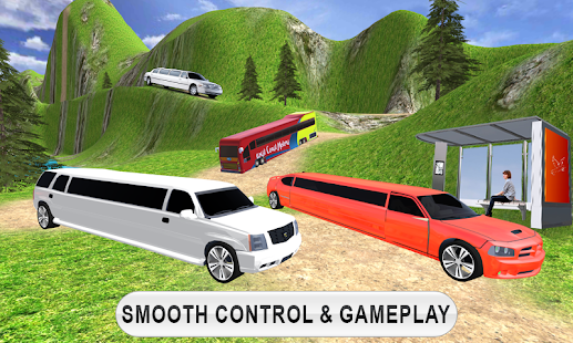 Limousine Taxi Driving Game- screenshot thumbnail