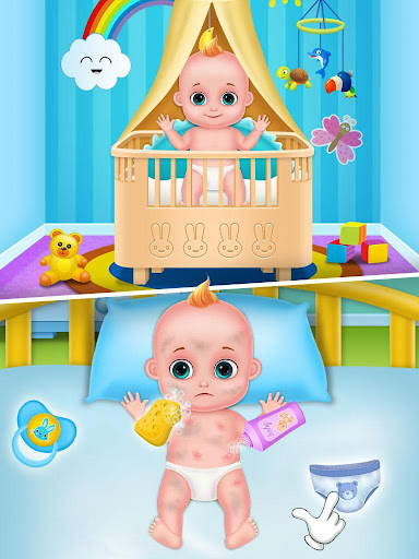Mommy & newborn baby shower - Babysitter Game 21.0 screenshots 8