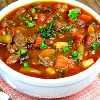 Vegetable Beef Soup Recipes.