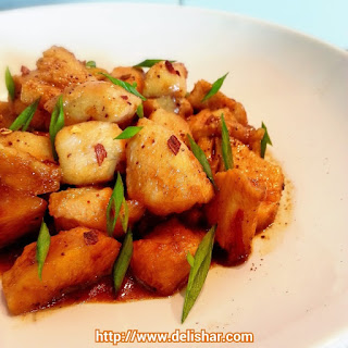 Maple Soy Chicken