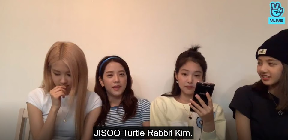 jisoo turtle rabbit kim